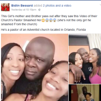 END TIME: Pastor Caught On Camera 'HAVING FUN' With His Female Church Members - Photos