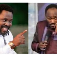 """You Are Too Small""-  Apostle Suleman Blasts T.B Joshua"