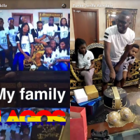 Watch Jenifa's Diary's Funke Akindele Surprise her Husband on His 40th Birthday (Photos/Video)