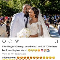 Banky W and Wifey Adesua reacts after nude video went viral